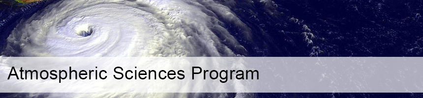 Atmospheric Sciences Program
