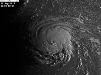 Hurricane Florence on the morning of September 10th, 2018.NASA