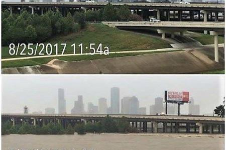 Before and After Photos of Hurricane Harvey