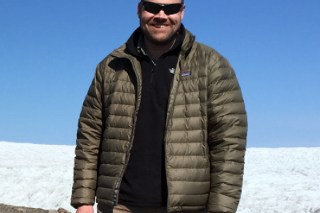 Dr. Thomas Mote in Greenland