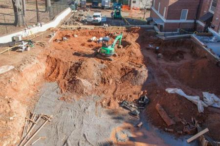 Baldwin Hall Excavation