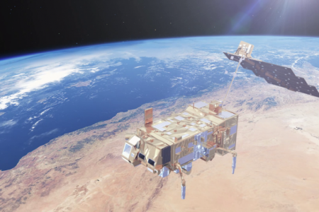 MetOp-C is the latest polar orbiting satellite in the European Space Agency fleet